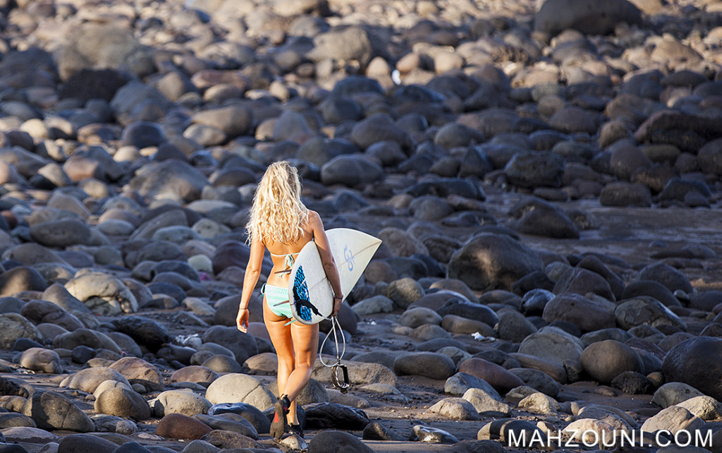 Surfer girl, medewi, Bali, Indonesia, Surfer babe, beach, bikini,