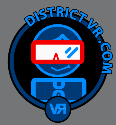 District VR, VR, Logo, website