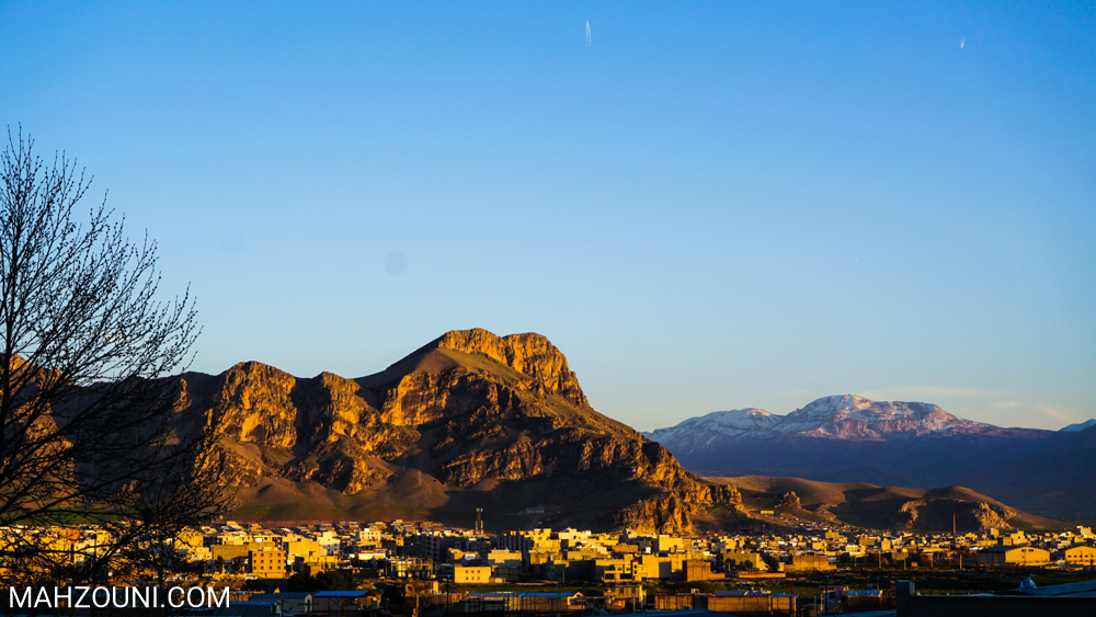Khorramabad, Lorestan, mountain, iran, city, sunset